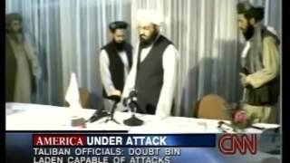 CNN 9-12-2001 News Coverage 8:00 AM - 9:00 AM