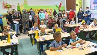 Náhled - ZŠ Vodní přivítala nové prvňáčky