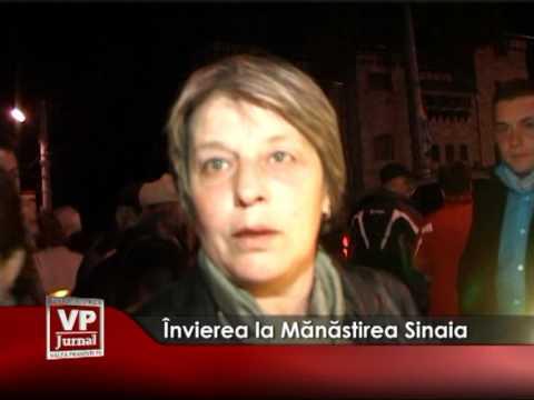 Învierea la Mănăstirea Sinaia