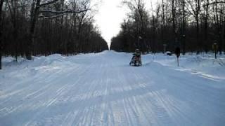 6. Arctic Cat Crossfire 1000 in Upper Michigan (kill the volume!!)