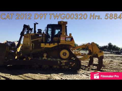 CATERPILLAR TRACK TYPE TRACTORS D9T equipment video Q2TyLp6b-2U