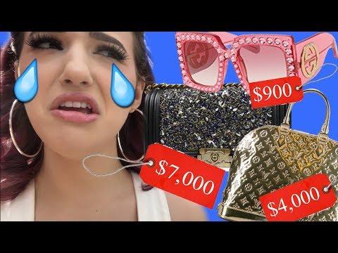 BOUJIE Thrift Shopping Adventure + HAUL! Balenciaga, Chanel, Gucci, & more!