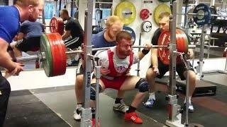 Tungeste træning før VM 2014