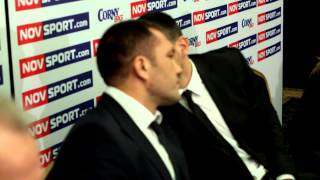 Kubrat Pulev - Press Conference 25.11.2014 Sofia