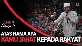 Video Cak Nun: Atas Nama Apa Kamu Jahat Kepada Rakyat MP3, 3GP, MP4, WEBM, AVI, FLV April 2019