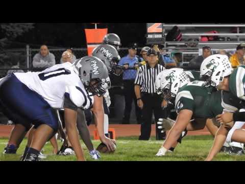 Emmaus VS Pocono Mountain West Football Highlights (видео)