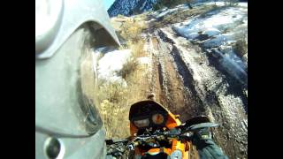 9. KTM 950 Adventure S, Ice, Snow, Mud, and Trials