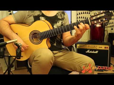 Тюнер онлайн для испанской гитары