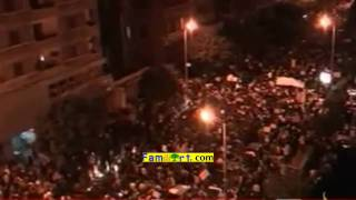 Egyptian Revolution 1-02-2011 Aljazeera Live part 5 مصر بث مباشر الجزيرة