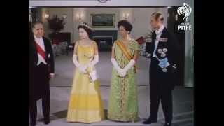 Queen Elizabeth II State Visit to Brazil in 1968. Reina Isabel II Visita de Estado a Brasil en 1968.