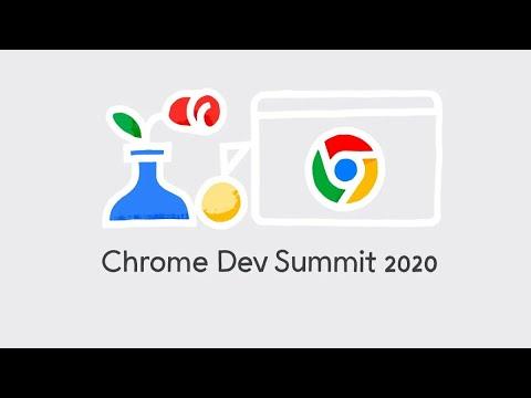 Chrome Dev Summit 2020 Day 1