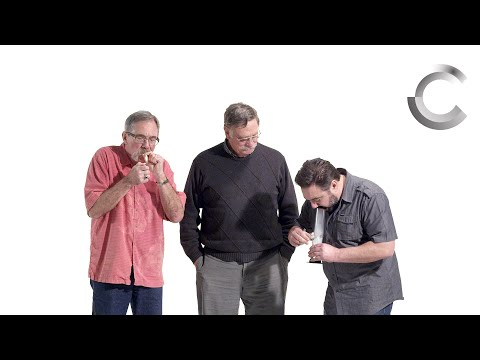 VIDEO: Retired Cops Smoke Weed for First Time