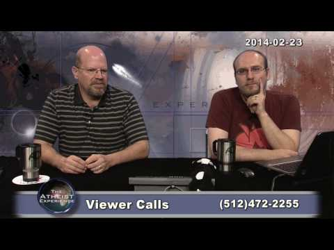 experience - The Atheist Experience #854 for February 23, 2014, with Russell Glasser and John Iacoletti. [[ Many apologies for the delay in this upload. THERE WAS NO EPIS...