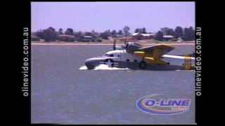 Lake Boga Australia  city photo : Grumman Albatross lands on Lake Boga Jan 26 1998