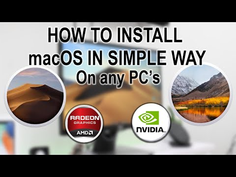 How To install macOS on Any PC's! - macOS Mojave + macOS HighSierra 2019