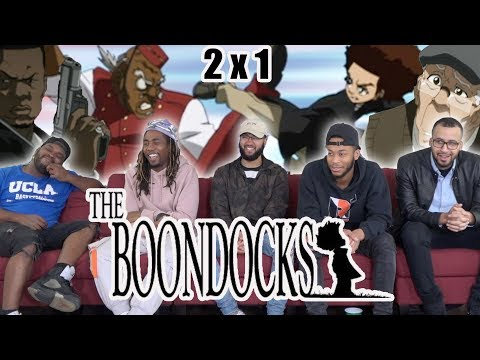 """The Boondocks 2 x 1 Reaction! """"Or Die Trying"""""""