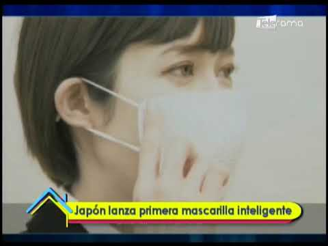 Japón lanza primera mascarilla inteligente