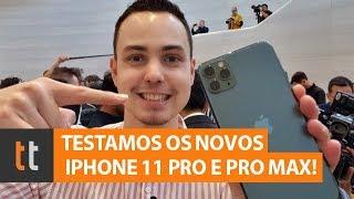 Tudocelular - Teste do iPhone 11 Pro e do Pro Max: saiba preço e ficha técnica