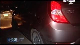 مصر الجديدة - حادث سيارة د. أحمد عمارة كانت بدافع السرقة ومشهد تمثيلى للحادث كما راوته زوجته