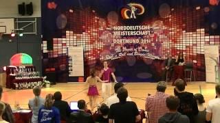 Magdalena Schramm & Christoph Quergfelder - Norddeutsche Meisterschaft 2014