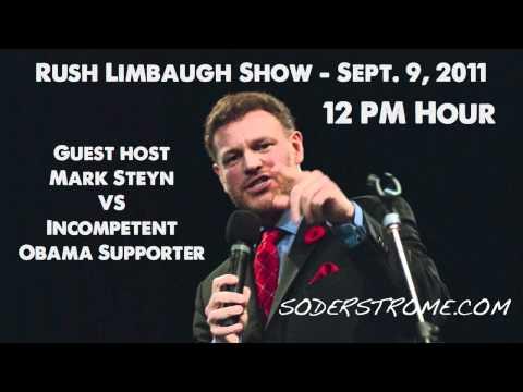 Mark Steyn vs. Incompetent Obama Supporter