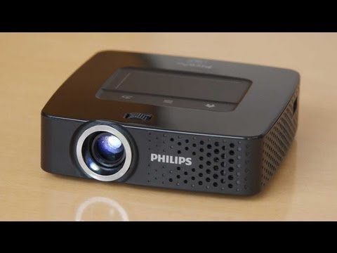 Android-Beamer mit Wlan - Test Philips PicoPix 3610