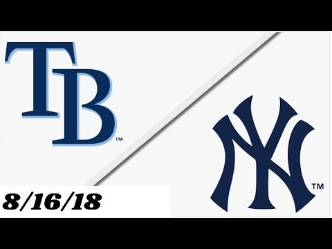 Tampa Bay Rays vs New York Yankees | Full Game Highlights