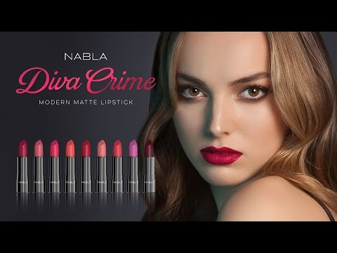 Nabla Diva Crime Lipstick Closer