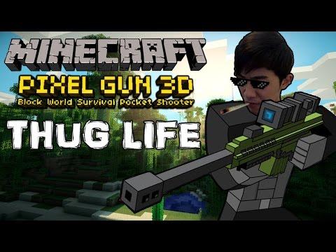 Sakura-chan Thug Life trong Minecraft Pixel Gun - Thời lượng: 15:22.
