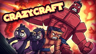 Minecraft | Crazy Craft 3.0 - HULK TURNS INTO RED ALPHA HULK! #86
