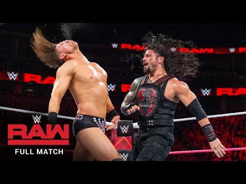 FULL MATCH - The Miz vs. Roman Reigns – Intercontinental Title Match: Raw, October 2, 2017