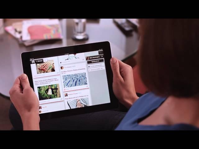 Rockmelt for iPad: Best of the Web & News