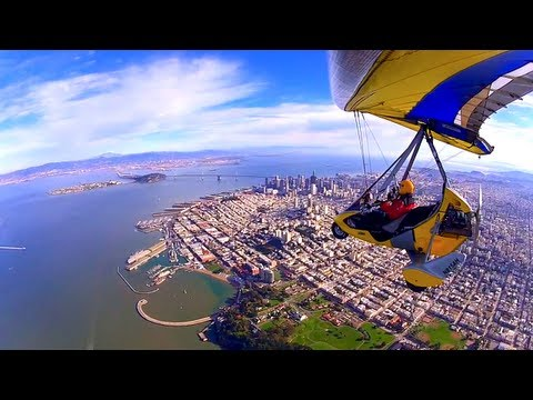 SAN FRANCISCO BAY - We flew from Santa Maria Airport to Petaluma Airport, which is located at 50 miles north of San Francisco to get David's new BioniX wing. The weather was OK,...