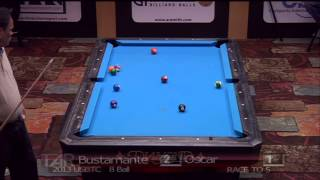 2013 USBTC 8 Ball Division. Oscar Dominguez Vs Francisco Bustamante