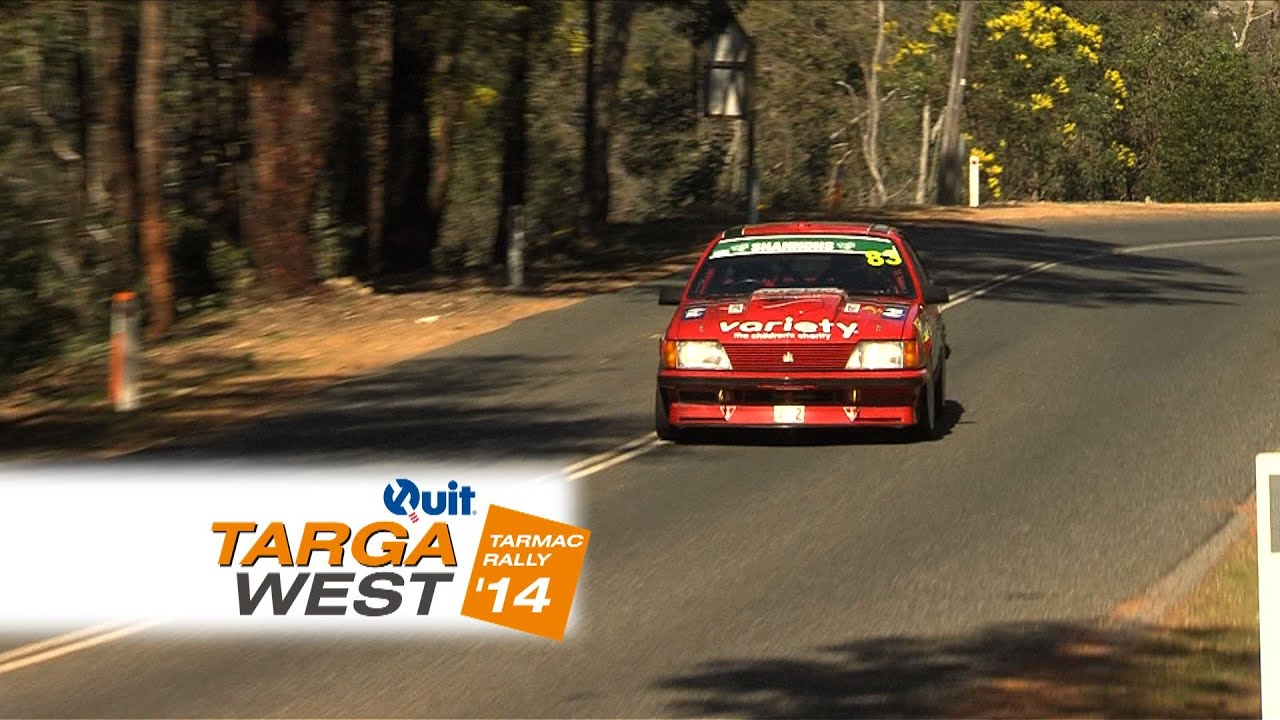 10 Years long service for Miller and Marsland – Quit Targa West 2014