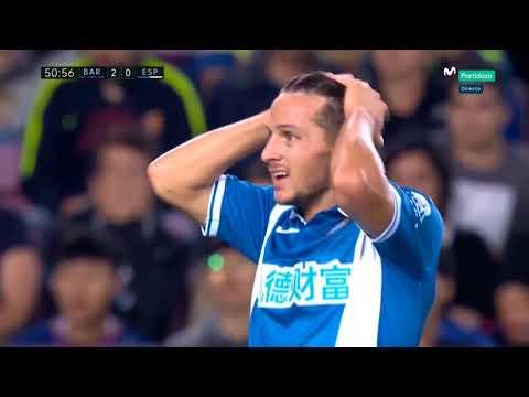BARCELONA vs ESPANYOL 5 0 ● All Goals & Highlights HD ● La liga   9 September 2017
