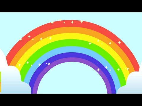 Rainbow Song - Animated Learning Song For Children