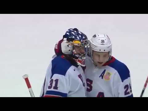 2017 WJC | Highlights | USA Tops Canada, 3-1