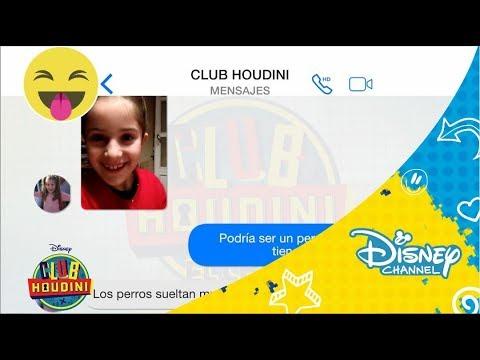 Club Houdini: El Chat de Club Houdini. Ep 8. Día 2   Disney Channel Oficial