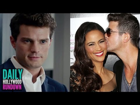 robin - More Celebrity News ▻▻ http://bit.ly/SubClevverNews The Fifty Shades of Grey trailer is out, Robin Thicke is finalling accepting marriage separation, and Justin Bieber teases new music!...