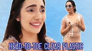 Video I Wore A Clear Plastic Outfit For A Day MP3, 3GP, MP4, WEBM, AVI, FLV Oktober 2018