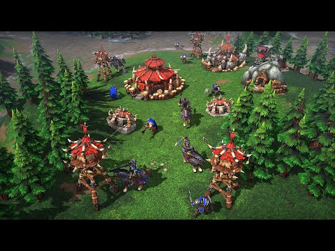 Warcraft III: Reforged Gameplay