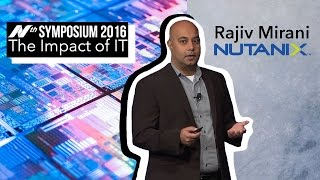 Nth Symposium 2016: Nutanix SVP Rajiv Mirani video