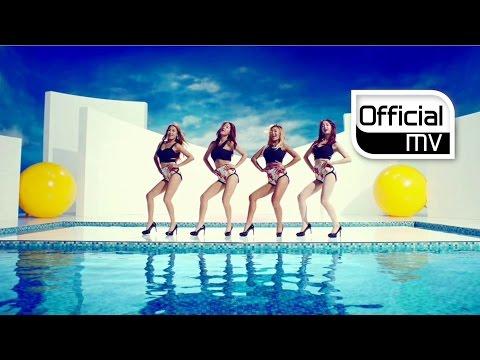 2014 性感韓國女團熱舞歌曲- SISTAR(씨스타) _ TOUCH MY BODY MV