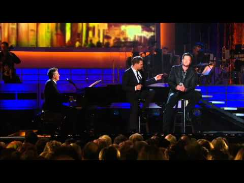 Michael Buble and Blake Shelton – Home  ( Live 2008 ) HD