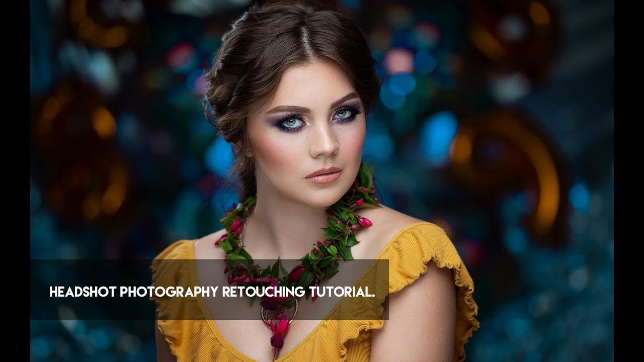 photo retouching tutorial both men and women