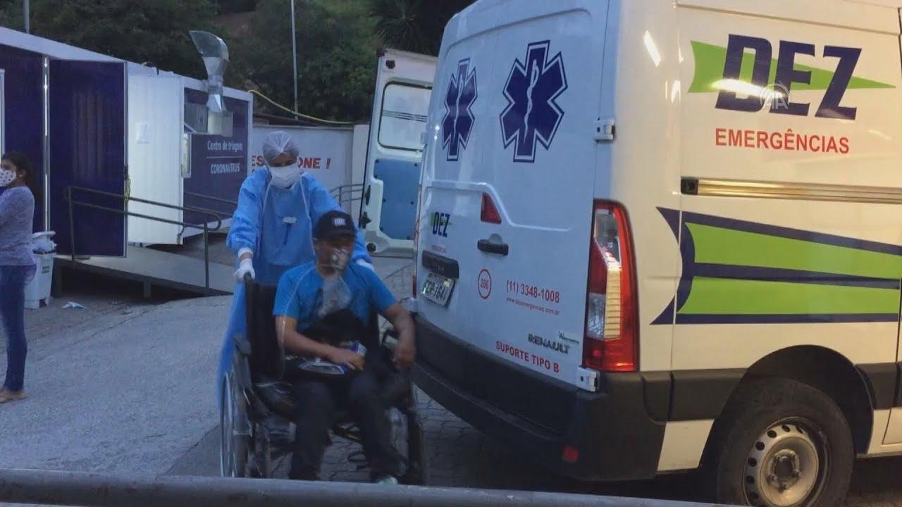 Bραζιλία: Η τρίτη πιο πληγείσα από τον κορονοϊο χώρα στον κόσμο