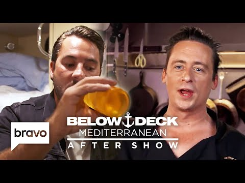 Does Ben Robinson Think He Overreacted to Travis' Partying? | Below Deck Med After Show (S4 E14)