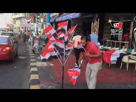 الأسكندرية تتزين بأعلام مصر استعداداً لمباراة التأهل لـ«كأس العالم»