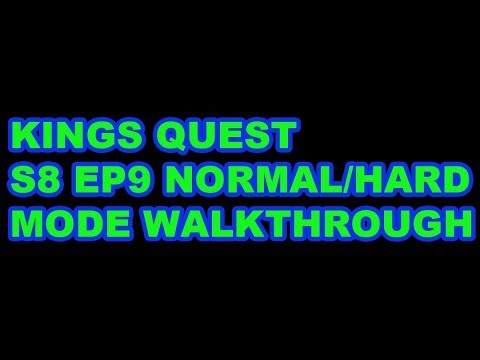 S8 EP9 KINGS QUEST NORMAL/HARD MODE WALKTHROUGH IN THE WALKING DEAD NO MAN'S LAND!